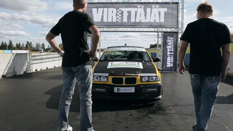 Jakso 12: Kari Gr�nthal - BMW 325i Xtreme Race -94