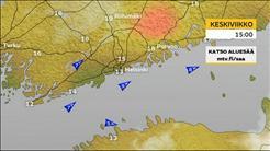 Helsingin ja Etelä-Suomen sääennuste