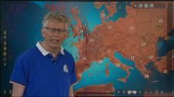 Länsi-Euroopassa kova helleaalto