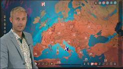 Euroopassa kuumaa, myrskyt kohti Floridaa ja Havaijia