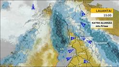 Oulun ja Pohjois-Suomen sääennuste