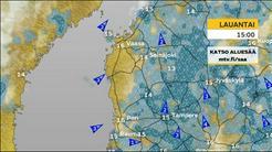 Tampereen ja Länsi-Suomen sääennuste
