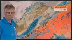 Viikon sää: Lämpöä ja ukkosia