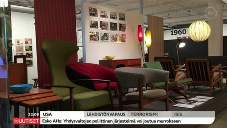 MTV Katsomo  Uutisjutut  Tapio Wirkkalan lamppu Ikea museossa