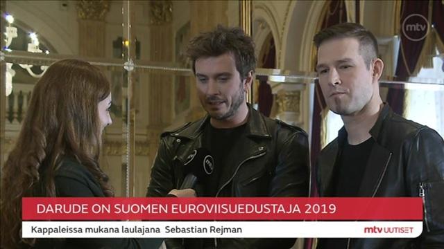 Viihdelive, Darude on Suomen euroviisuedustaja!