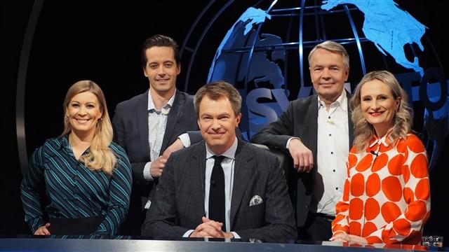 9. Vieraina Pekka Haavisto ja Kirsi Alm-Siira