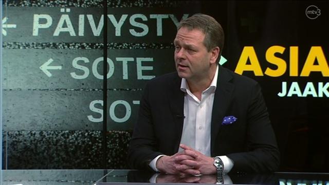 Haastattelussa pormestari Jan Vapaavuori