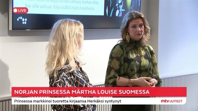 Viihdeuutiset, Prinsessa Märtha Louise kertoi erityisherkkyydestään