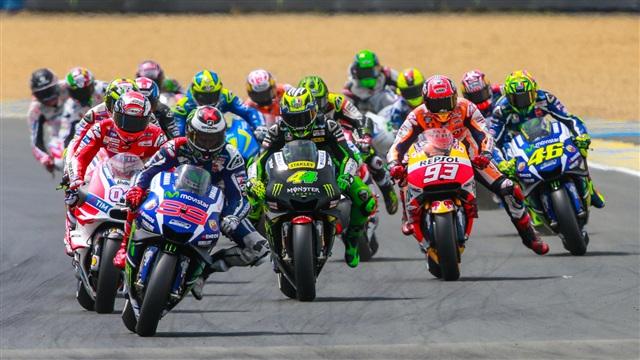 MotoGP: Ranskan osakilpailu