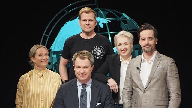 17. Vieraina Antti Luusuaniemi ja Anna Perho