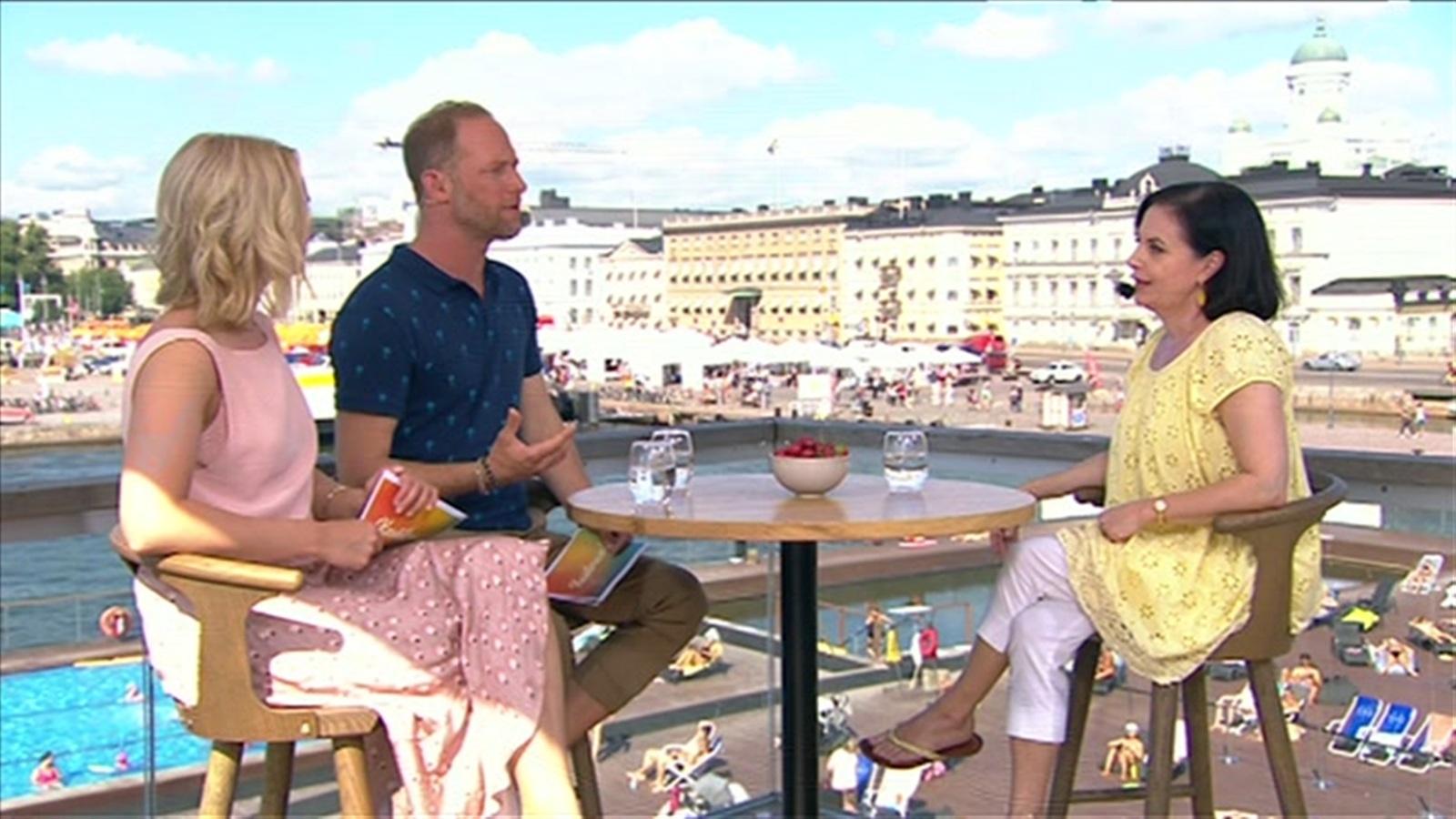 10. Anna-Leena Härkönen ja Janne Kataja