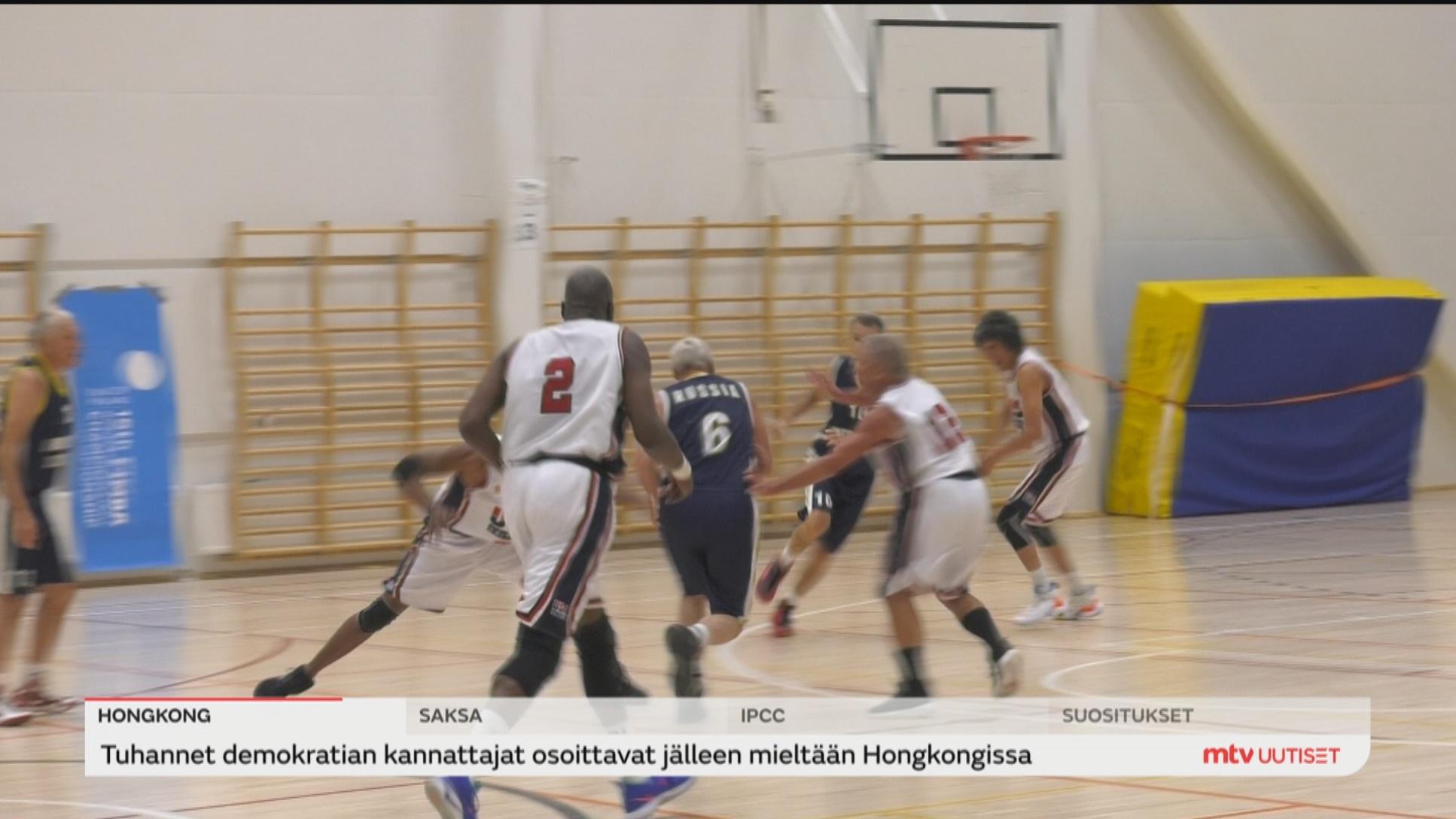 Seniorikoripallon maailmanmestaruuskisat pelattu Espoossa