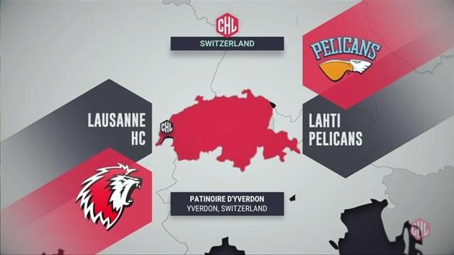 Huippuhetket ottelusta Lausanne HC – Pelicans