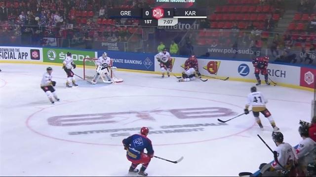 Grenoble - Kärpät -ottelun maalit