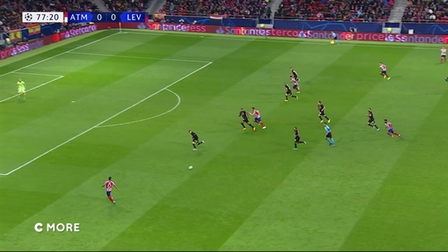 Maalikooste: Atlético Madrid - Bayer Leverkusen