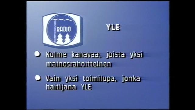 mtv.fi/retro, 1988: Suomeen suunnitellaan kolmea tv-kanavaa