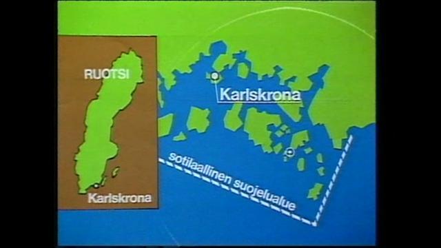 mtv.fi/retro, 1981: Neuvostosukellusvene karille Ruotsissa