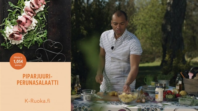 Mitä tänään syötäisiin?, Jakso 106: Piparjuuriperunasalaatti