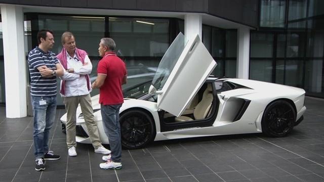 Jakso 3: Lamborghinin tehtaalla