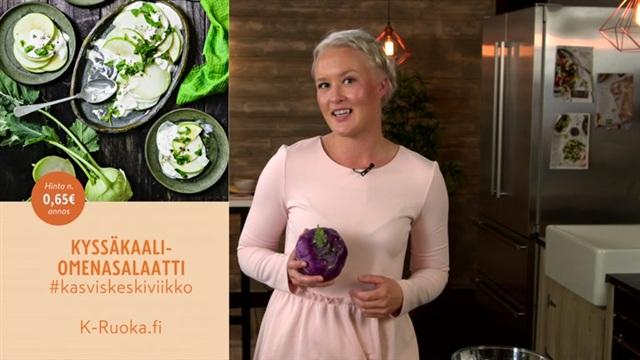 Mitä tänään syötäisiin?, Jakso 148: Kyssäkaali-omenasalaatti