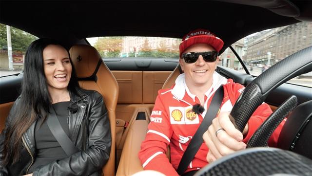 5. Ratissa Kimi Räikkönen