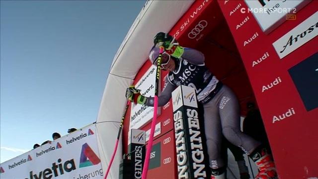 Alppihiihdon mc: Lenzerheide, Tessa Worley avauslaskun nopein naisten supersuurpujottelussa