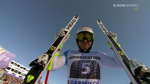 Alppihiihdon mc: Garmisch-Partenkirchen, Beat Feuz tykitti voittoon Garmischin syöksyssä