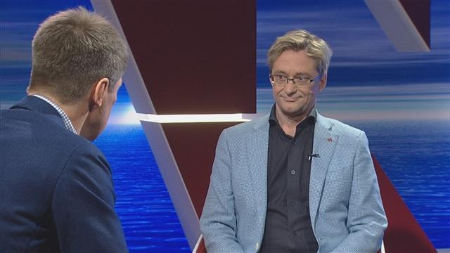 9. Vieraina Tapio Luoma ja Mikael Jungner