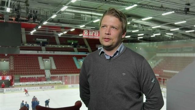 3. Helsinki Redsin harjoituksissa