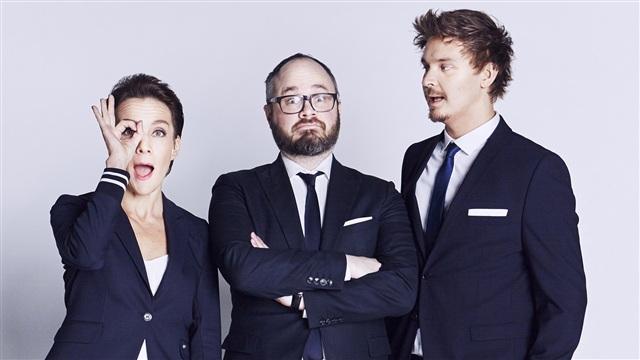 3. Vieraina mm. Jussi Parviainen, ihmisbarbie Amanda Ahola ja Evelina