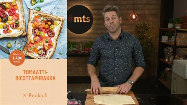 Mitä tänään syötäisiin?, Jakso 108: Tomaatti-ricottapiirakka