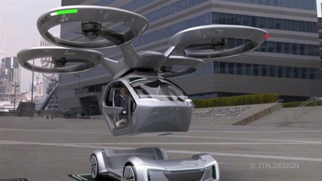 8. Lentäviä autoja ja 600-heppainen BMW