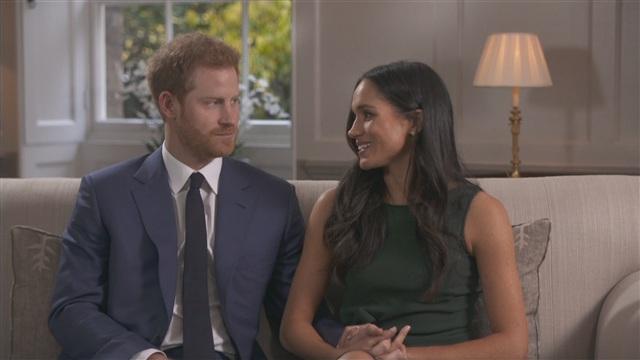 Uutisklipit, Prinssi Harryn ja Meghan Marklen satumainen rakkaustarina