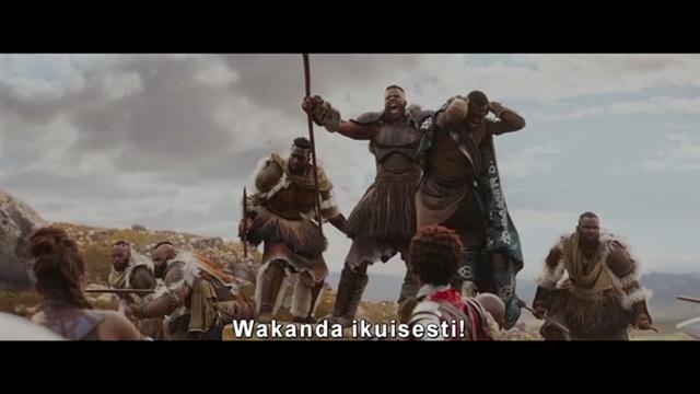 Viihdeuutiset, Black Panther -traileri