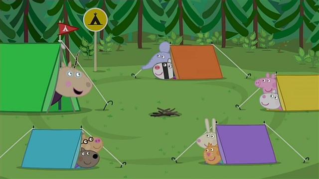 45. Koulun telttaretki
