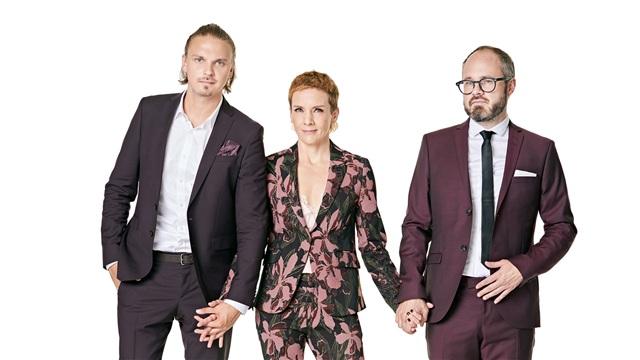 Enbuske, Veitola ja Salminen, Jakso6: Vieraina mm. Anna Puu ja Pippa Laukka