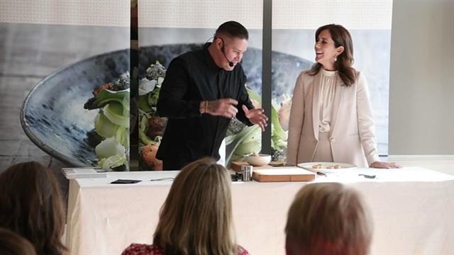 Viihdeuutiset, Kruununprinsessa Mary ja Tomi Björck kokkailivat