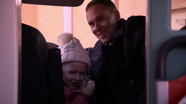 Taiga ja Pietari viihtyvät ambulanssissa