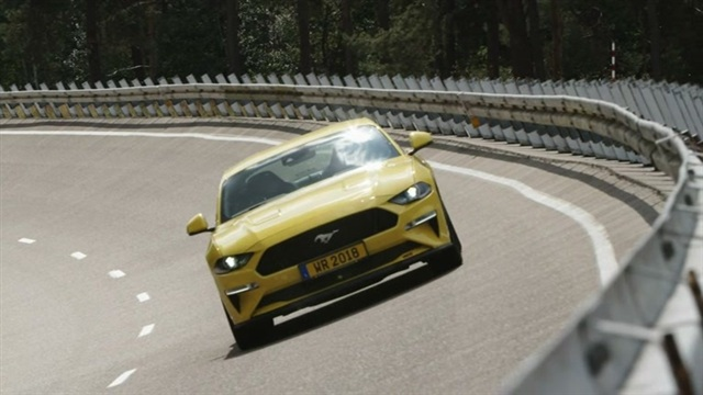 5. Ford Mustang ovaaliradalla Belgiassa