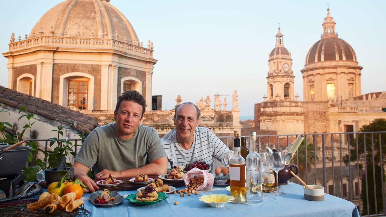 Jamie kokkaa Italiassa