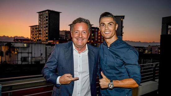 Cristiano Ronaldo Piers Morganin haastattelussa
